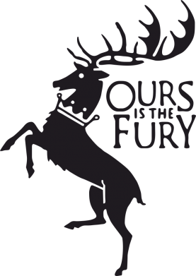 Принт Коврик для мыши Ours is the fury - FatLine