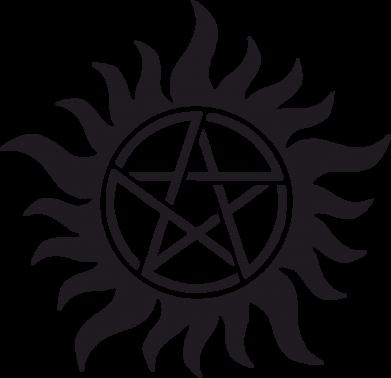 Принт Штаны Сверхъестественное Star - FatLine