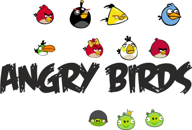 Принт Фартук All Angry Birds - FatLine
