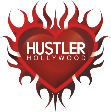 Принт Футболка Поло Hustler Hollywood - FatLine