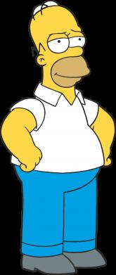 Принт Футболка Серьезный Homer - FatLine