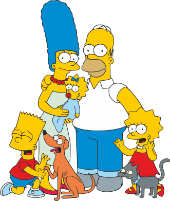 Принт Кружка 320ml Simpsons Family - FatLine