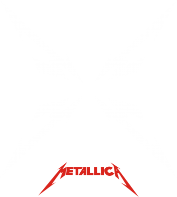 Принт Футболка Поло Metallica X - FatLine