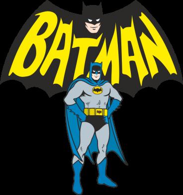 Принт Женская футболка с V-образным вырезом Batman Hero - FatLine