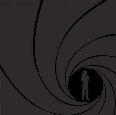 Принт Подушка Agent 007 - FatLine