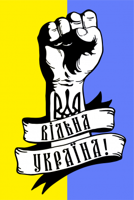 Принт Детская футболка Вільна Україна! - FatLine