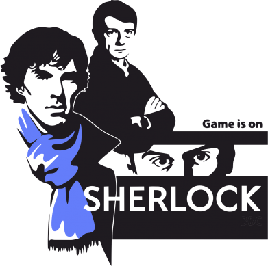 Принт Фартук Sherlock (Шерлок Холмс) - FatLine