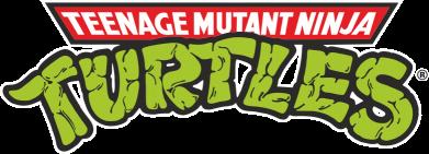 Принт Футболка Черепашки ниндзя логотип - FatLine