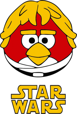 Принт Майка-тельняшка Star Wars Bird - FatLine