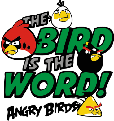 Принт Кружка 320ml The bird in world Angry Birds - FatLine