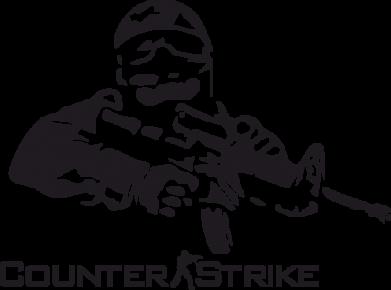 Принт Мужская майка Counter Strike Player - FatLine