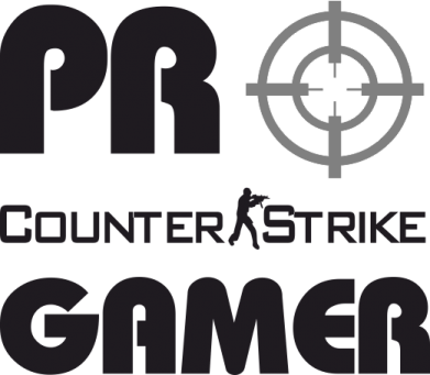 Принт Футболка Counter Strike Pro Gamer - FatLine
