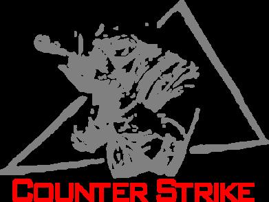 Принт Футболка с длинным рукавом Counter Strike Gamer - FatLine