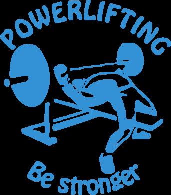 Принт Коврик для мыши Powerlifting be Stronger - FatLine