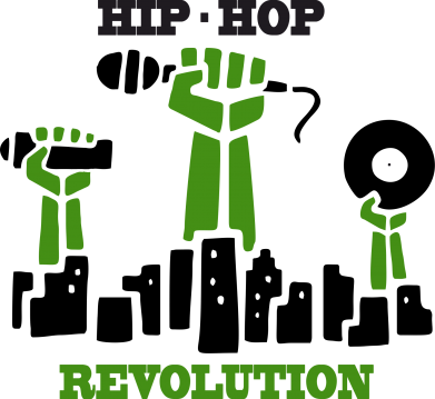 Принт Подушка Hip-hop revolution - FatLine