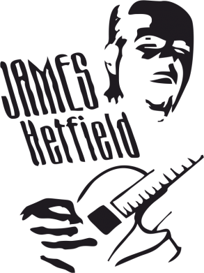 Принт Кружка 320ml James Hetfield - FatLine