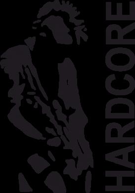 Принт Футболка Поло Harcore - FatLine