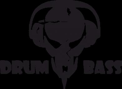 Принт Футболка с длинным рукавом Drumm Bass - FatLine