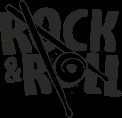 Принт Штаны Rock&Roll - FatLine