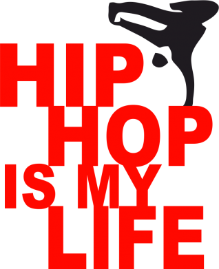 Принт Толстовка Hip-hop is my life - FatLine