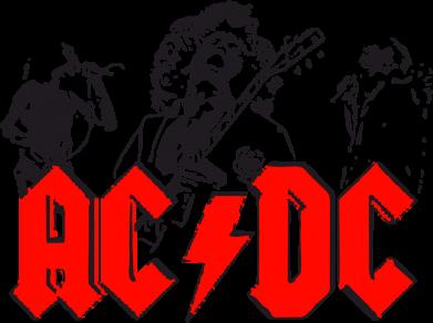 Принт Подушка AC DC - FatLine