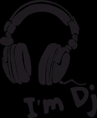 Принт Женская футболка I'm DJ - FatLine