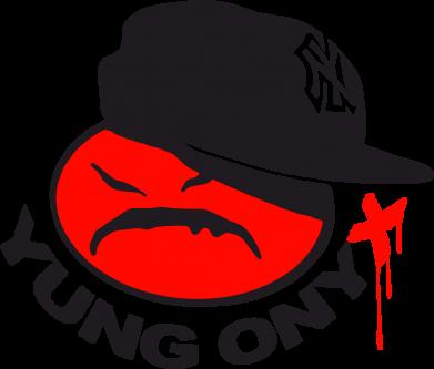 Принт Камуфляжная футболка Yung ONYX - FatLine