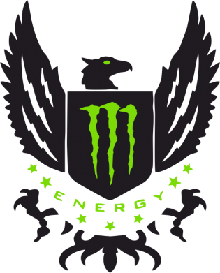 Принт Подушка Monster Energy Army - FatLine