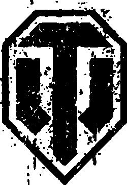 Принт Майка-тельняшка WOT Logo - FatLine
