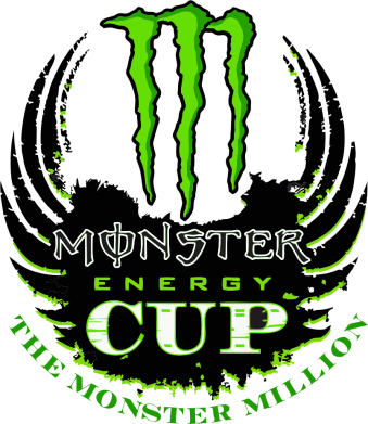 Принт Майка-тельняшка Monster Energy Cup - FatLine