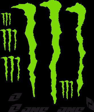 Принт Фартук Monster One - FatLine