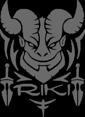 Принт Подушка Riki - FatLine