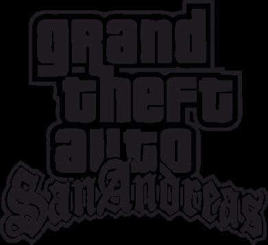 Принт Женская футболка с V-образным вырезом GTA San Andreas - FatLine