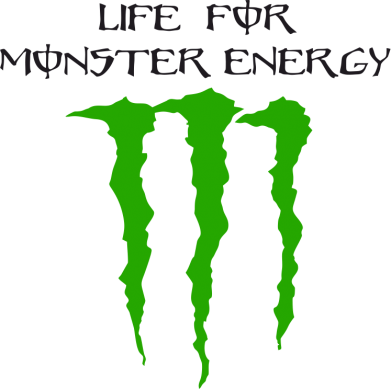 Принт Сумка Life For Monster Energy - FatLine