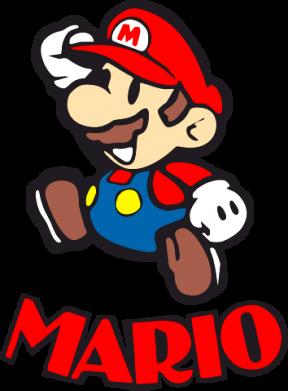 Принт Майка-тельняшка Супер Марио - FatLine