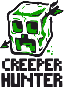 Принт Мужская толстовка Creeper Hunter, Фото № 1 - FatLine