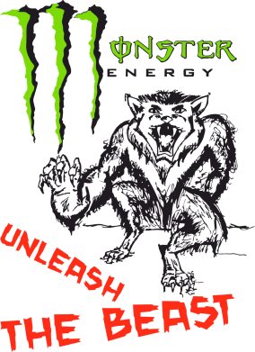 Принт Женская Monster Inleash The Best - FatLine