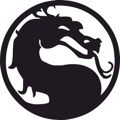 Принт Наклейка Mortal Combat - FatLine