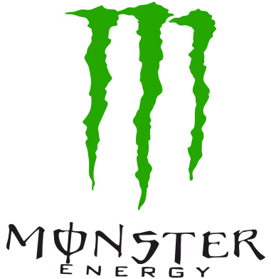 Принт Шапка на флисе Monster Energy Logo - FatLine