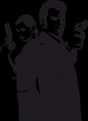 Принт Женская толстовка Max Payne 2 - FatLine