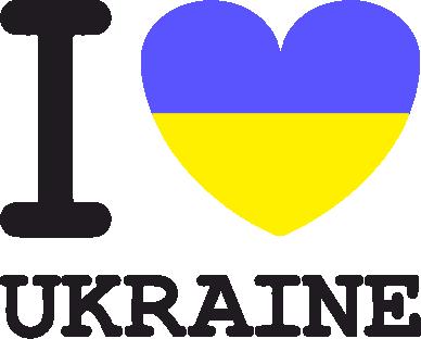 Принт Сумка Я люблю Україну - FatLine