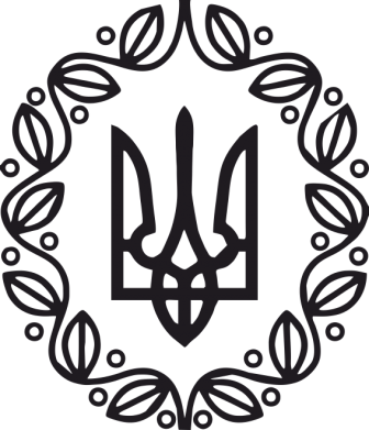 Принт Детская кепка Герб Украины - FatLine