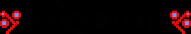 Принт Женская футболка с V-образным вырезом Ukraine вишиванка - FatLine