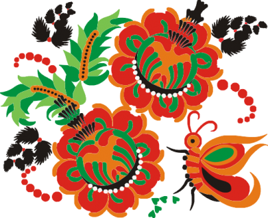 Принт Коврик для мыши Квіти України - FatLine