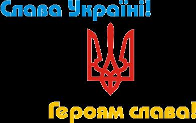 Принт Женская майка Слава Україні! Героям Слава! - FatLine