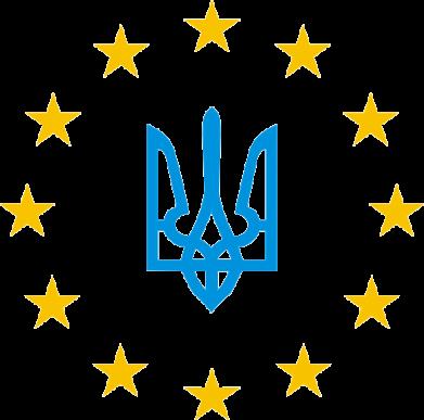 Принт Чоловіча толстовка ЕвроУкраїна, Фото № 1 - FatLine