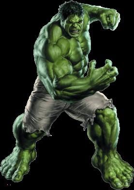 Принт Женская толстовка Big Hulk - FatLine