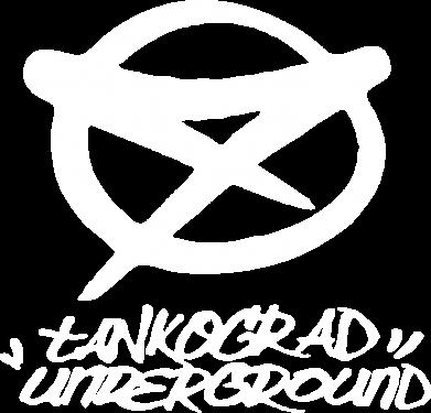 Принт Женская толстовка Tankograd Underground Logo - FatLine