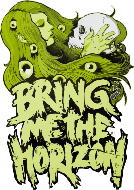 Принт Штаны Bring me the horizon - FatLine