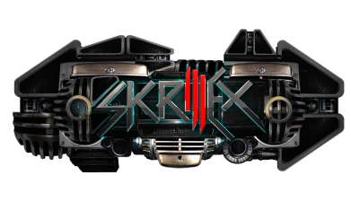 Принт Кружка 320ml Skrillex Logo - FatLine